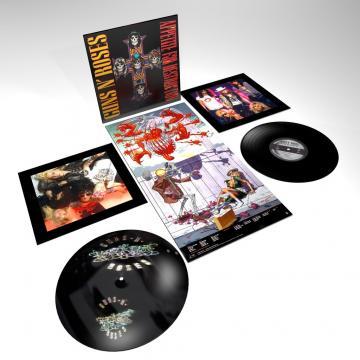 Appetite For Destruction, Guns N' Roses, vinyl LP